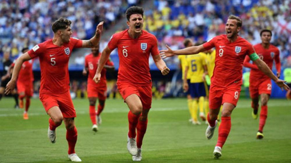 Thắng dễ Thụy Điển, Đội tuyển Anh giành vé vào bán kết