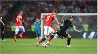 Thắng Nga kịch tính sau loạt luân lưu 11m, Croatia vào bán kết gặp tuyển Anh