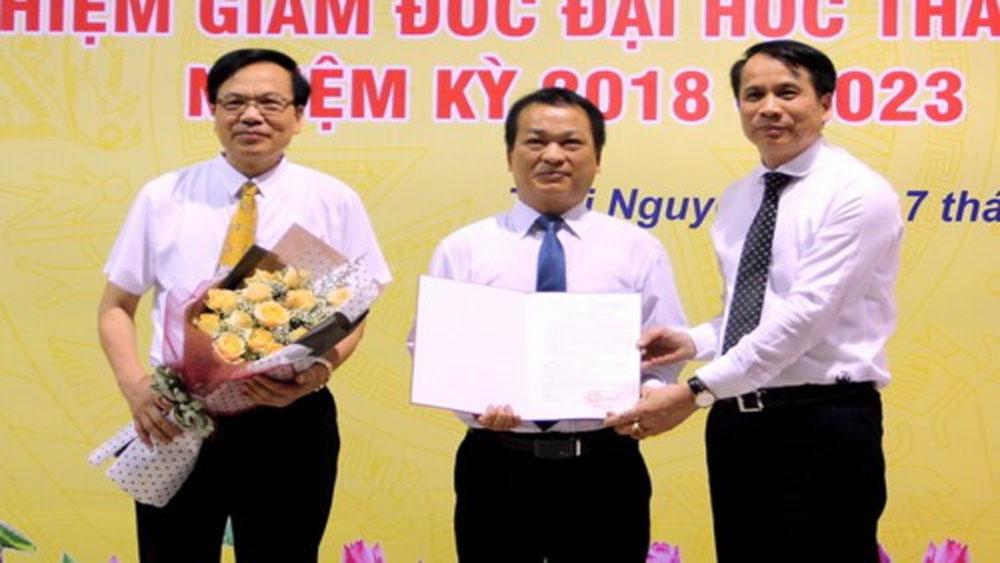 Đại học Thái Nguyên có tân Giám đốc