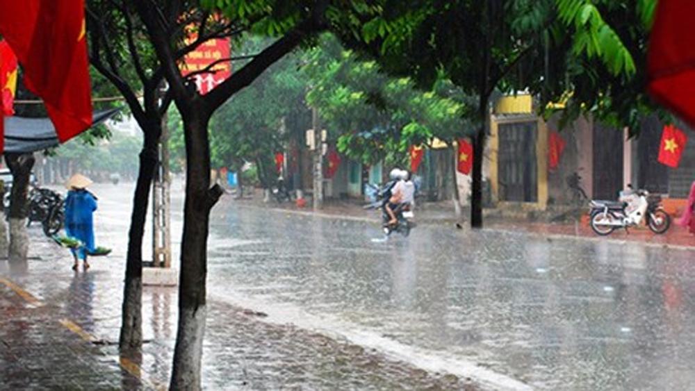 Miền Bắc có mưa to diện rộng