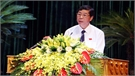 Phát biểu khai mạc kỳ họp thứ 5 của đồng chí Bùi Văn Hải, Bí thư Tỉnh ủy, Chủ tịch HĐND tỉnh Bắc Giang