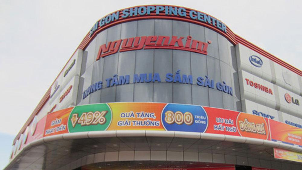 Điện máy Nguyễn Kim, truy thu thuế, gần 150 tỷ đồng