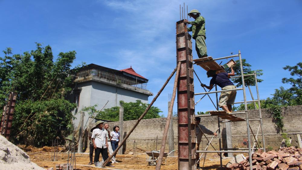 Hiệp Hòa, xây dựng, nhà có công