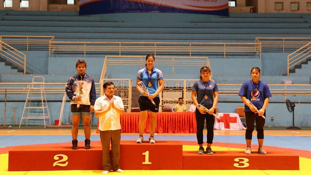 Bắc Giang, bộ môn vật, giành huy chương, giải trẻ toàn quốc