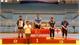 Bắc Giang giành 8 huy chương tại Giải vô địch trẻ vật tự do, cổ điển toàn quốc