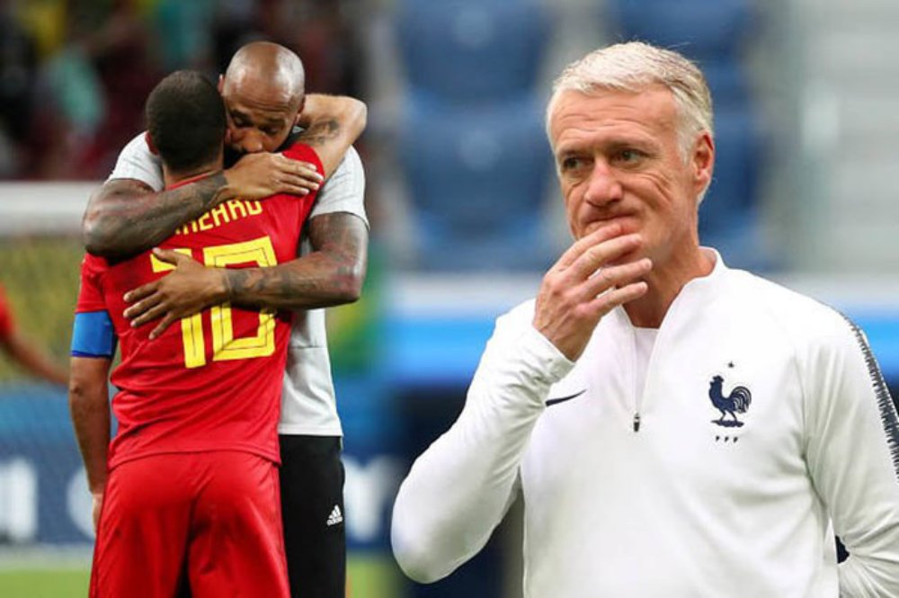 Didier Deschamps, World Cup 2018, Thierry Henry, Bỉ, Pháp