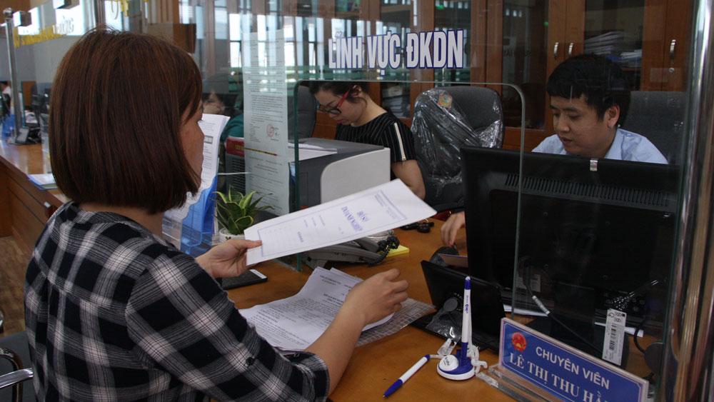 Bắc Giang, thủ tục hành chính, công bố