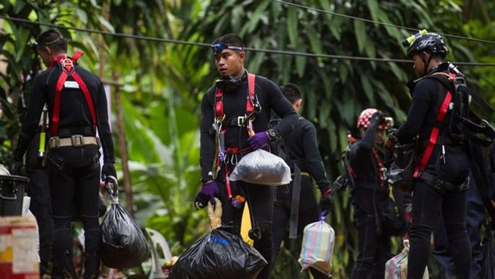 Giải cứu, thành công, tất cả, nạn nhân, mắc kẹt, hang Tham Luang