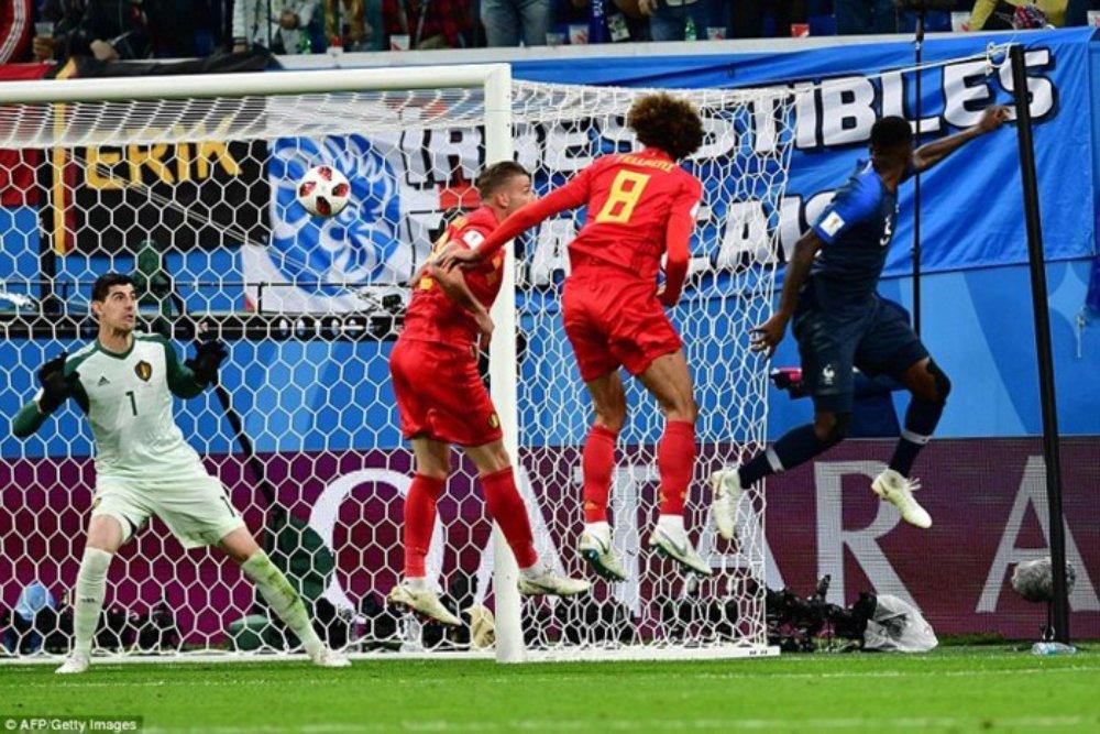 Blaise Matuidi, Hugo Lloris, Samuel Umtiti, Kylian Mbappe, Bỉ, Pháp, World Cup 2018