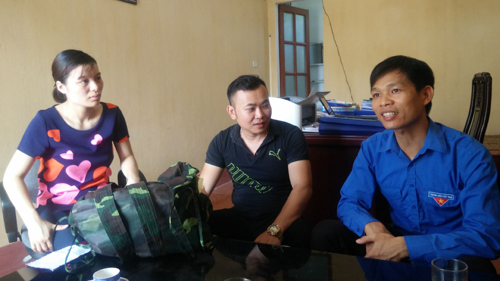 Lục Nam tổ chức khóa học kỳ quân đội đầu tiên cho thanh, thiếu niên