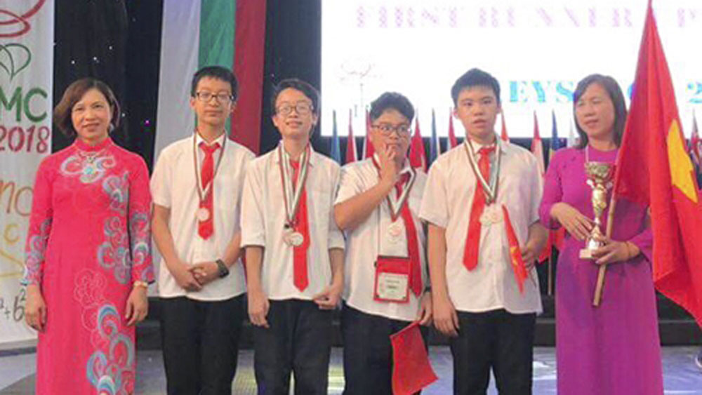 Vietnam wins five gold medals at international mathematics competition