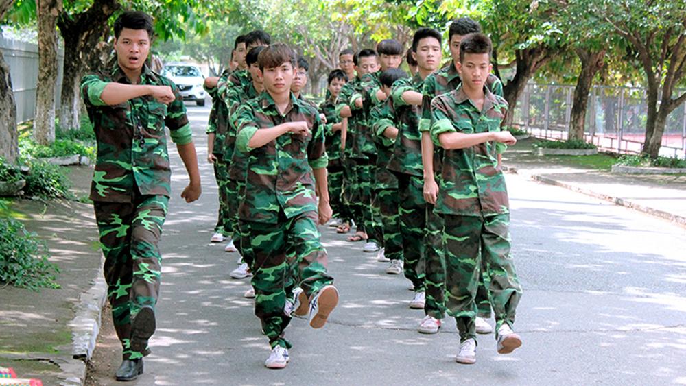 Lục Nam, tổ chức học kỳ quân đội, đầu tiên, thanh thiếu niên