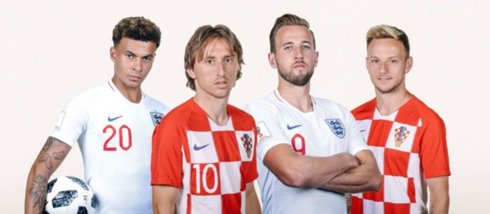 Croatia, Luka Modric, Harry Kane, Anh, World Cup 2018