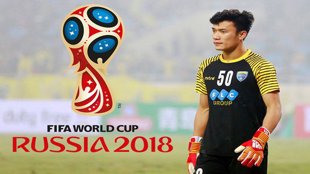 Vietnam goalkeeper, Bui Tien Dung, World Cup, semi-final, England and Croatia, FIFA World Cup, Man of the match, great promoting opportunities