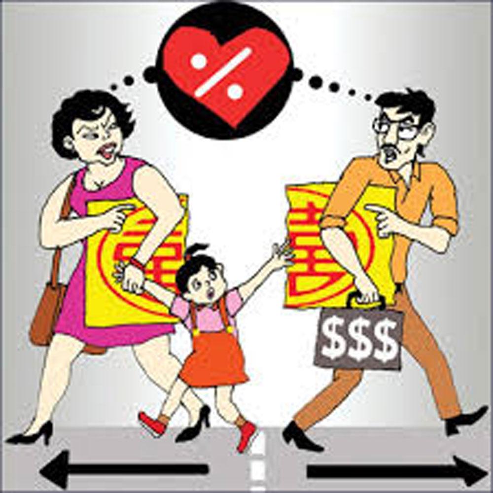 ly hôn, con trẻ, hệ lụy, Bắc Giang