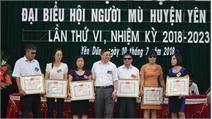 Phấn đấu hằng năm có 12% hội viên Hội Người mù được vay vốn giải quyết việc làm