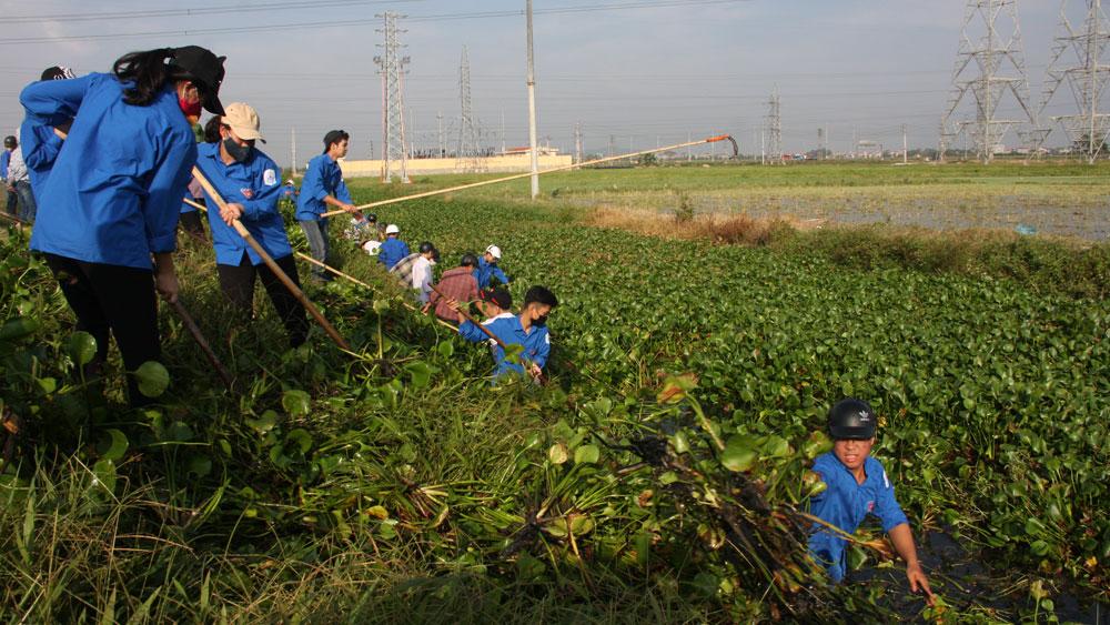 Việt yên, thanh niên tình nguyện, nạo vét kênh