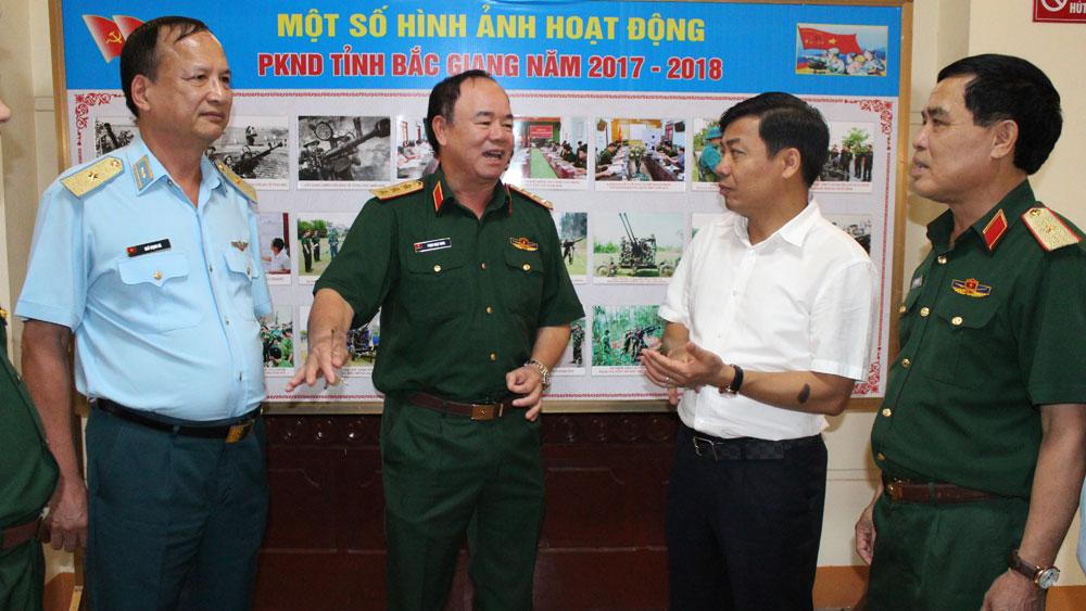 Bắc Giang, xây dựng lực lượng phòng không nhân dân, hiện đại, tình huống, tinh nhuệ