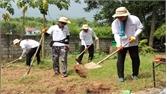 Sôi nổi hoạt động của đoàn tình nguyện viên người Hàn Quốc tại Lạng Giang