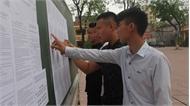 Bắc Giang: Công bố điểm thi THPT quốc gia năm 2018