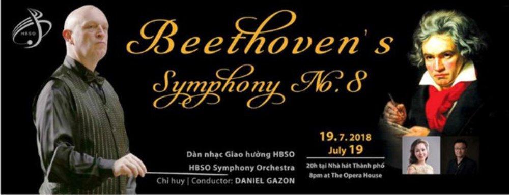 Daniel Gazon, Ludwig Van Beethoven, giao hưởng, hòa nhạc, quan hệ ngoại giao, Bỉ
