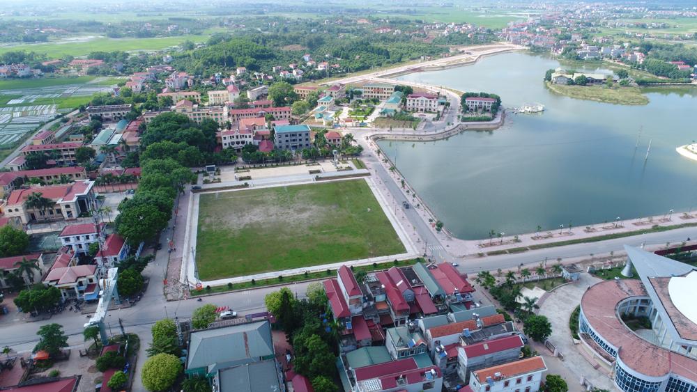 Quy hoạch, đô thị trung tâm, tỉnh Bắc Giang