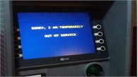 Một buổi tối, đến 7 cây ATM không rút được tiền