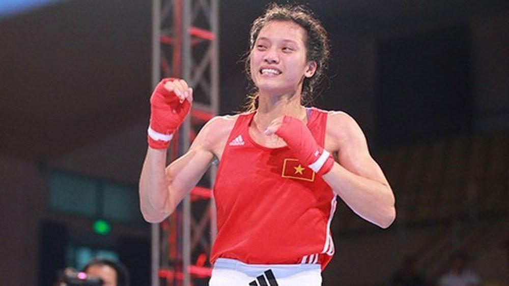 Vietnamese boxer, gold medal, Kapolri Cup, Asian women's boxing champion, Nguyen Thi Tam, pugilistic prowess, boxing team