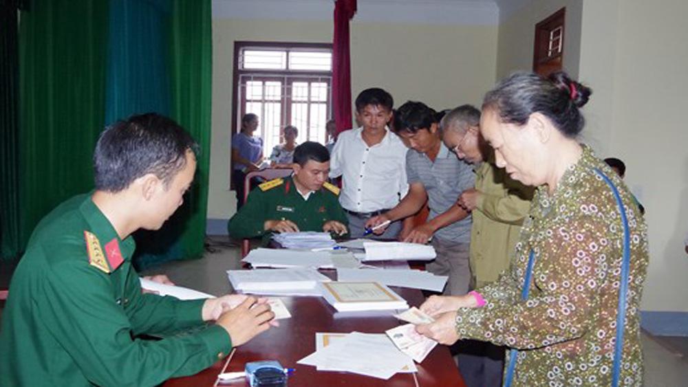 Lạng Giang; chế độ dân công hỏa tuyến; Quyết định 49