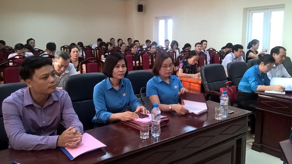 Công đoàn Viên chức tỉnh xây dựng Kế hoạch thực hiện Nghị quyết Đại hội Công đoàn tỉnh Bắc Giang