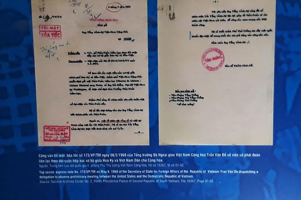 Công bố, tài liệu, giải mật về Hiệp định Paris năm 1973