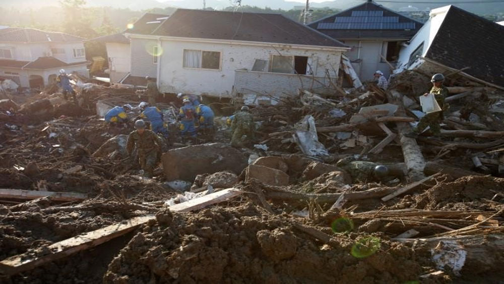 người thiệt mạng,  mưa lũ, Nhật Bản