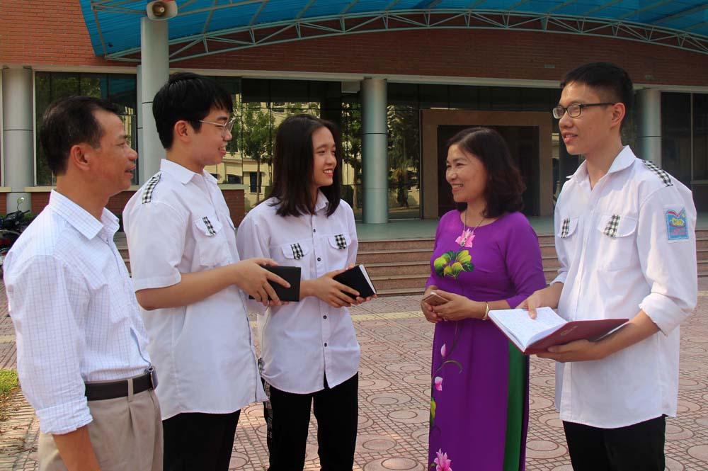 Sở Giáo dục và Đào tạo, Bắc Giang, thi THPT quốc gia, thí sinh, bí quyết học tập