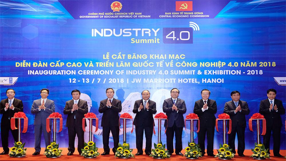 Thủ tướng, Diễn đàn cấp cao, Triển lãm quốc tế, công nghiệp 4.0