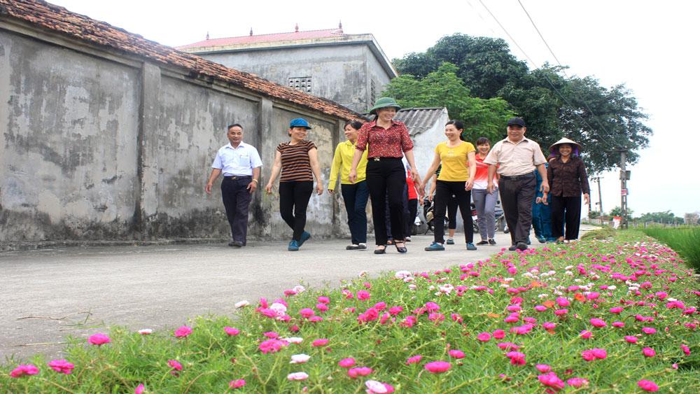 phụ nữ, Hiệp Hòa, Bắc Giang, đường hoa