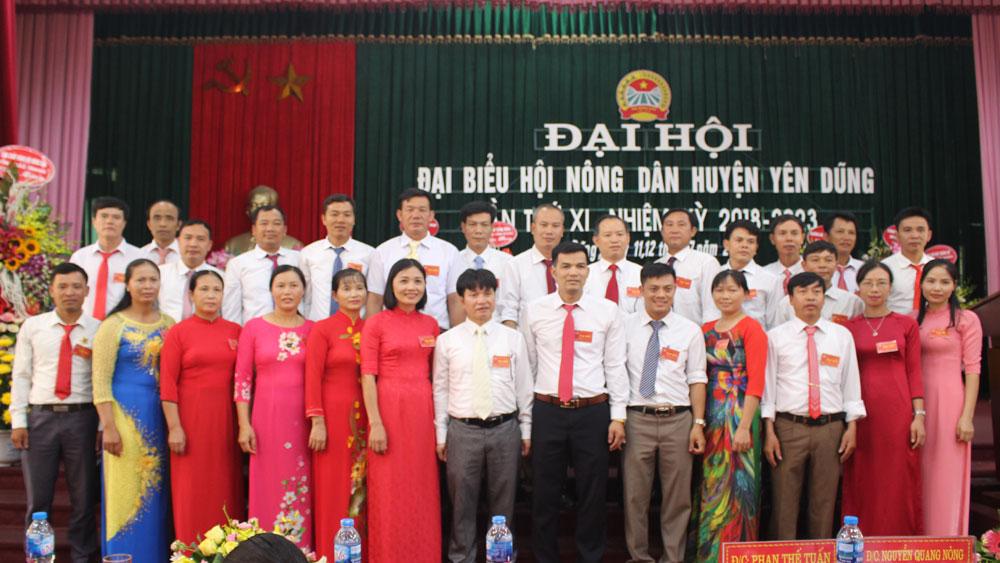 Bầu 29 đồng chí vào Ban chấp hành Hội Nông dân huyện khóa mới