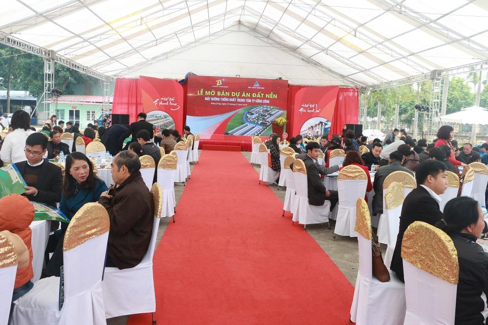 Bàn giao, đất nền thực địa, mở bán đợt 3, dự án, Thiên Lộc Sông Công