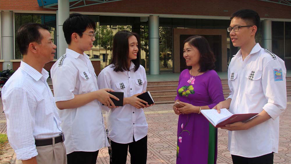 Bac Giang's contestants gain outstanding results at National High School Graduation Exam
