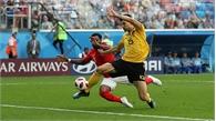 Anh 0-1 Bỉ (hết hiệp 1): Quỷ đỏ bỏ lỡ nhiều cơ hội ghi bàn