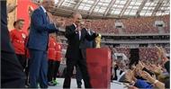 Lễ bế mạc World Cup 2018 diễn ra trước trận chung kết