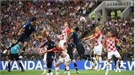 Chung kết World Cup 2018: Kết thúc hiệp 1, Pháp dẫn trước Croatia với tỉ số 2-1