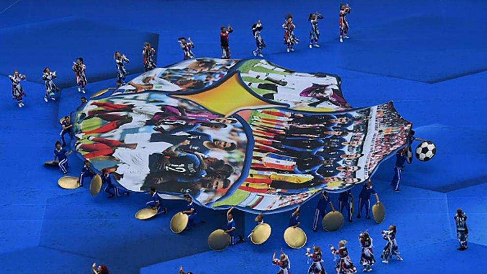 Bế mạc World Cup 2018: Màn trình diễn đầy sắc màu
