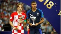 Modric giành Quả bóng vàng, Mbappe là Cậu bé vàng World Cup 2018