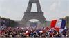 Paris 'rung chuyển' mừng tuyển Pháp vô địch World Cup 2018