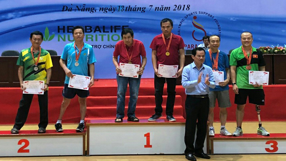 Bac Giang team bags 5 medals at National Sports Festival for Disabled People