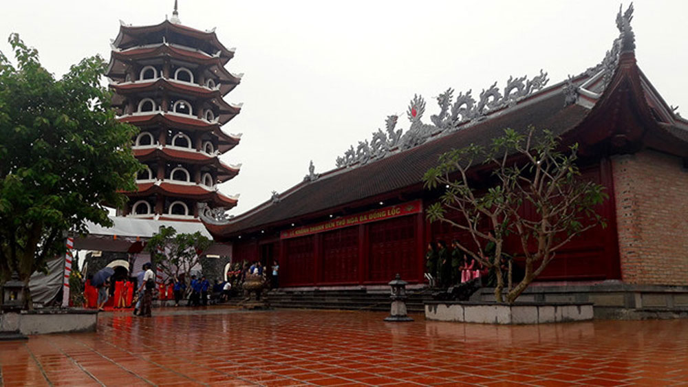 Temple inaugurated in commemoration of Dong Loc volunteers