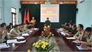 Ban Chỉ huy Quân sự huyện triển khai nhiệm vụ 6 tháng cuối năm