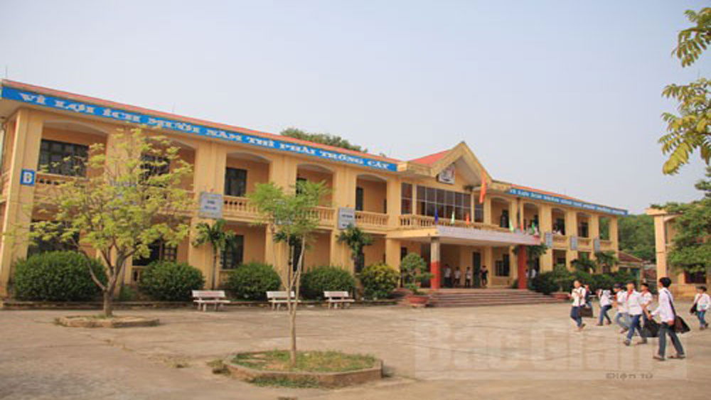 Bac Giang builds key and hi-quality secondary school in Doi Ngo town