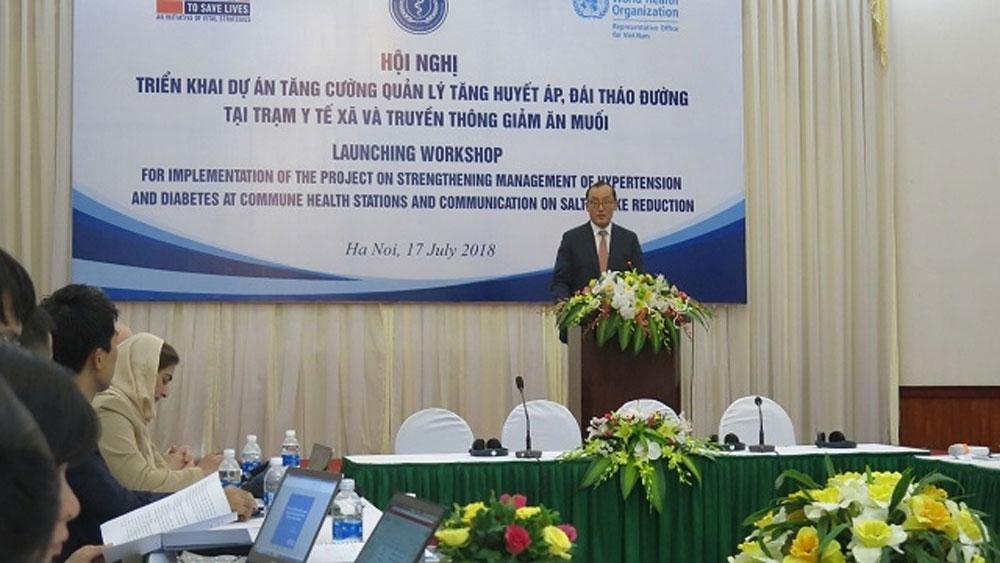 TS Kidong Park, Trưởng đại diện Tổ chức Y tế thế giới (WHO) tại Việt Nam.