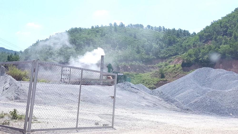 Công ty cổ phần Bê tông Nhựa Đại Phát, Yên Dũng, Bắc Giang, khói bụi